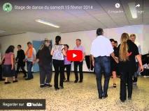 15/02/2014 : Stage de danse