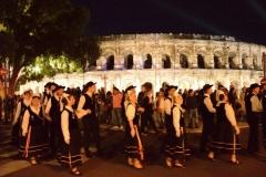 21/05/2015 : Pégoulade de la feria de Pentecôte à Nîmes (30)