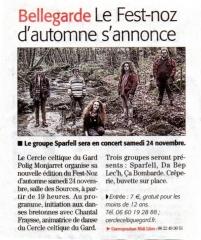 Midi-Libre de novembre 2018